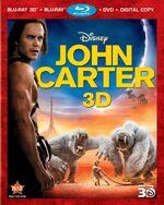 JohnCarter 3-D Bluray