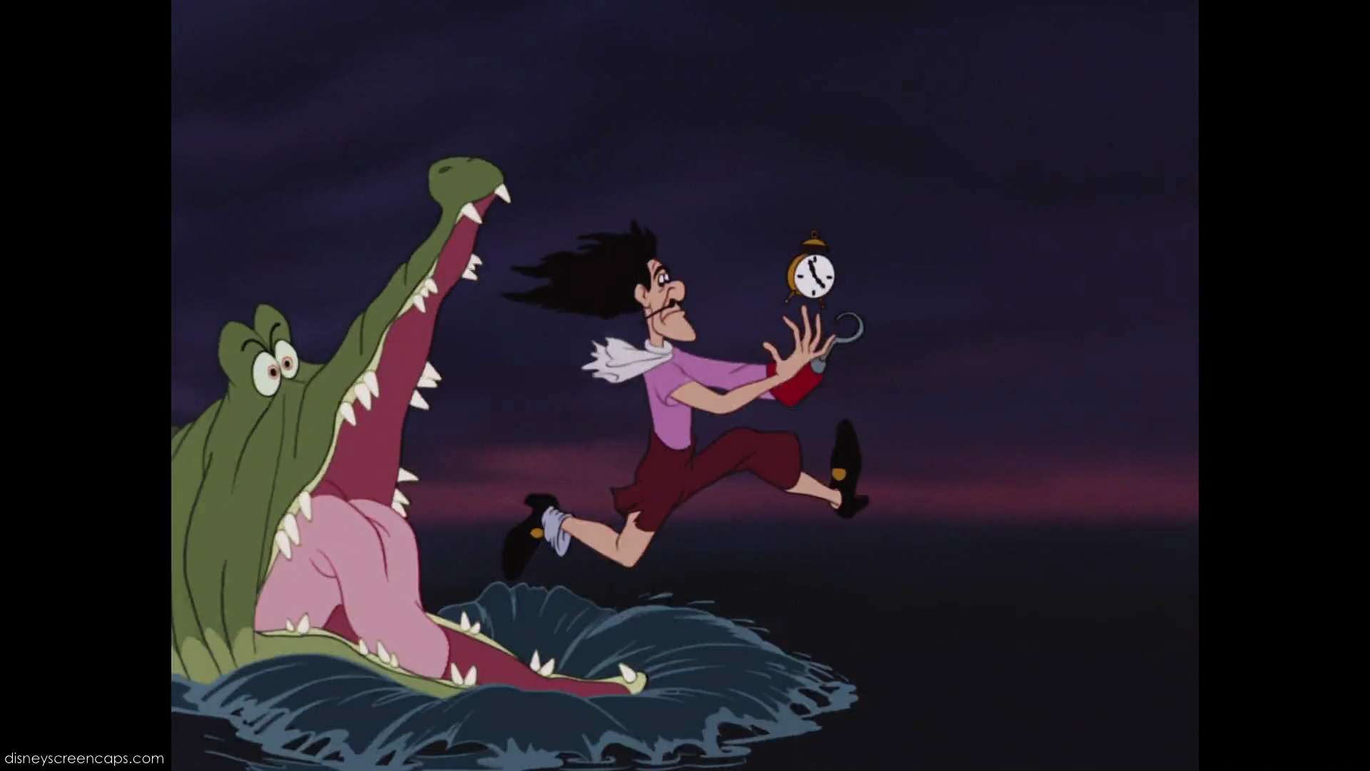 what did the crocodile swallow in peter pan