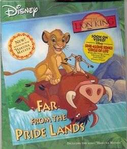 The Lion King Far From the Pride Lands Disney Read Along