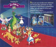 Walt Disney Masterpiece Collection - Promotional Print Advertisment - 2