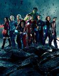 AOU Avengers Team