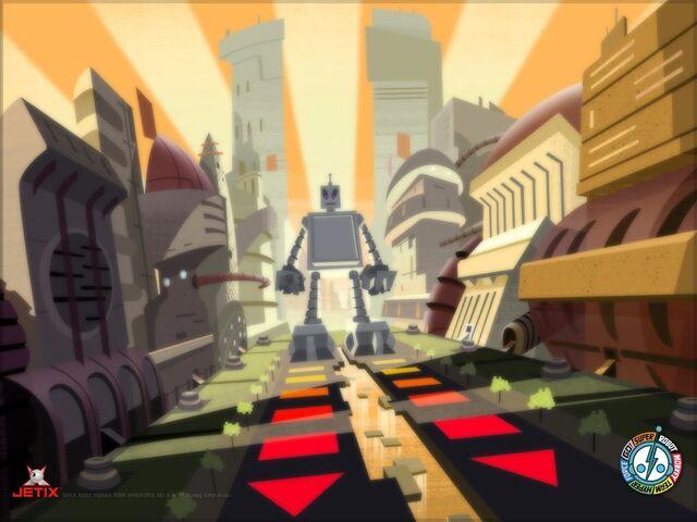 File:Super Robot in Shuggazoom City.jpg