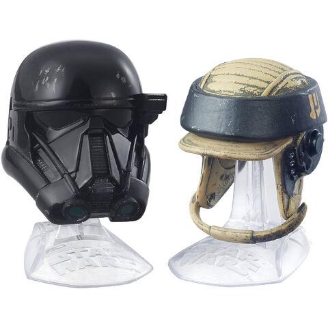 File:Death Trooper And Rebel Commando Helmets Black Series.jpeg