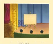 Disney's Mickey Mouse - The Nifty Nineties - Stage Background