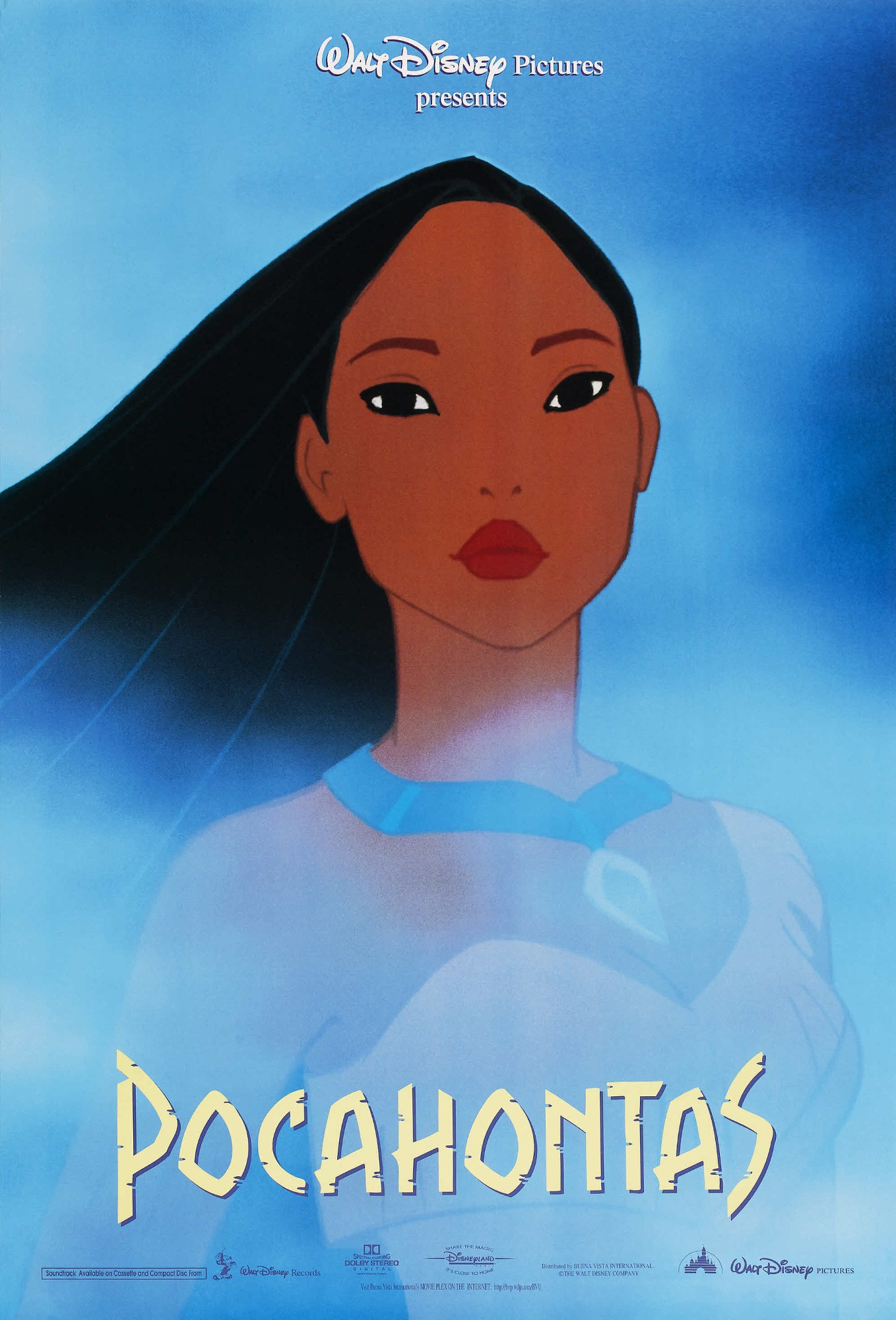 Pocahontas Film Poster 3jpg Disney Wiki FANDOM Powered By Wikia