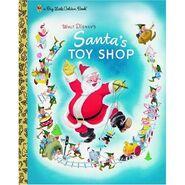 Santa's Toy Shop Big Little Golden Book