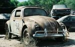 Herbie in the junkyard