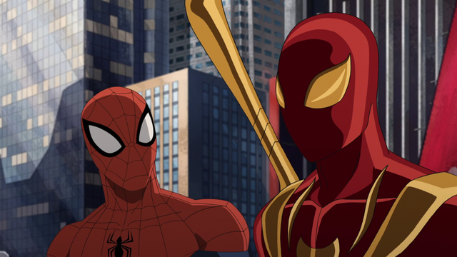 File:Iron Spider and Spider-Man 1.png
