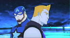 Captain America and Hawkeye AUR