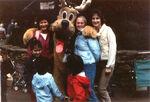 Pluto in reindeer antlers