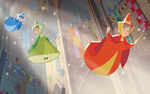 Disney Princess Aurora's Story Illustraition 1
