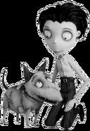Victor and Sparky Frankenstein
