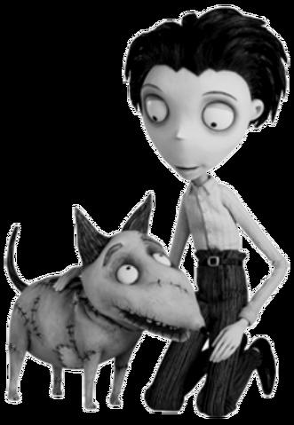 File:Victor and Sparky Frankenstein.png