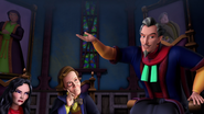 Gerylock listing to Grimtrix speech