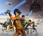 Rebels game promo art