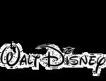 Walt Disney Pictures 1985 Print Logo