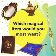 Which magical item would you most want