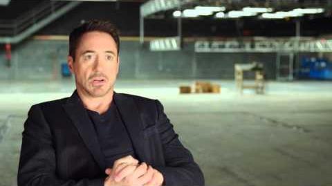 "Captain America Civil War Behind-The-Scenes ""Iron Man"" Interview - Robert Downey Jr"