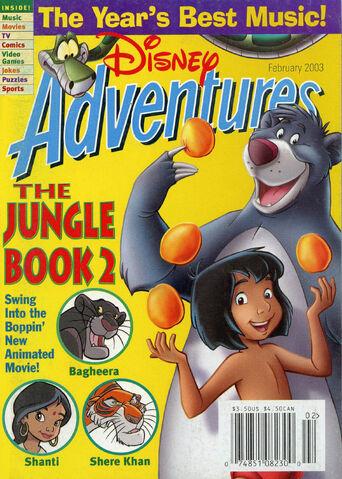 File:Disney Adventures Magazine cover February 2003 The Jungle Book.jpg