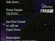 Disney parade credits