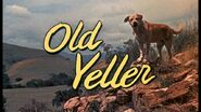Old Yeller Title Card