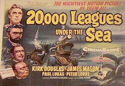 20000 leagues under sea poster walt disney