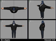 Incredibles Game Concept - Mr. Incredible disguise