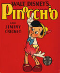 Pinocchio and Jiminy Cricket cover