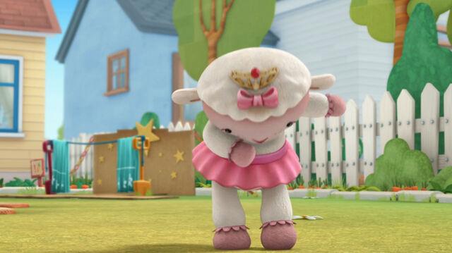 File:Princess lambie takes a bow.jpg