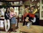 Mickey visits Family Ties