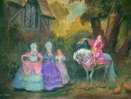 Belle's Sisters Concept Art (1)