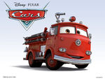 Cars Characters 28 Red
