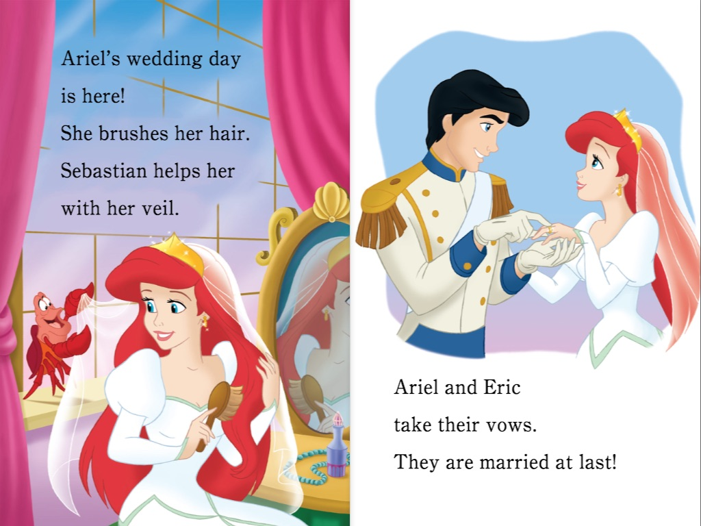 the little mermaid ariel and eric