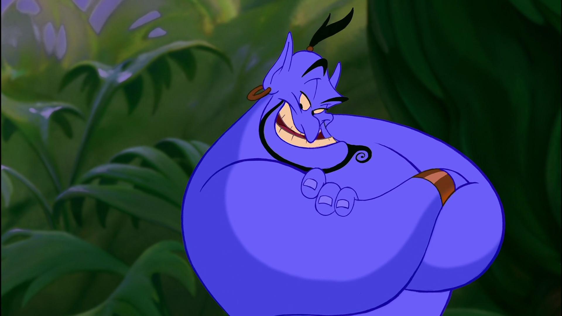 Ο Will Smith ως το Τζίνι του Aladdin