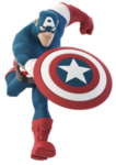 Captain America DI Running Render