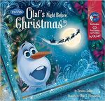Frozen Olaf's Night Before Christmas Book