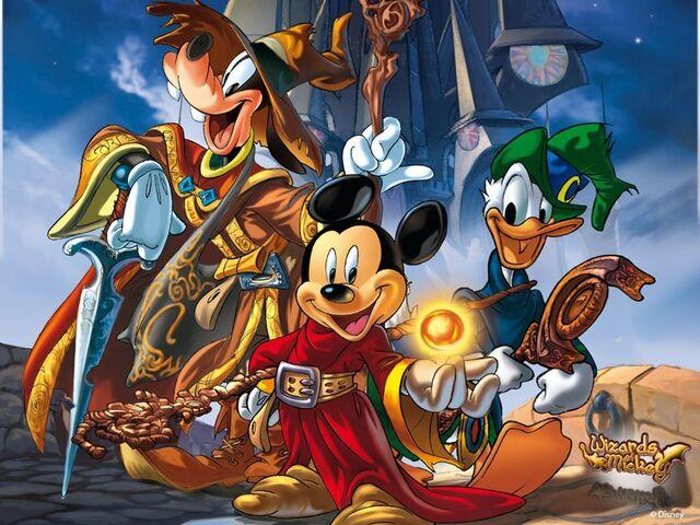 File:MickeyDonald&Goofy-wizards-of-mickey.jpg