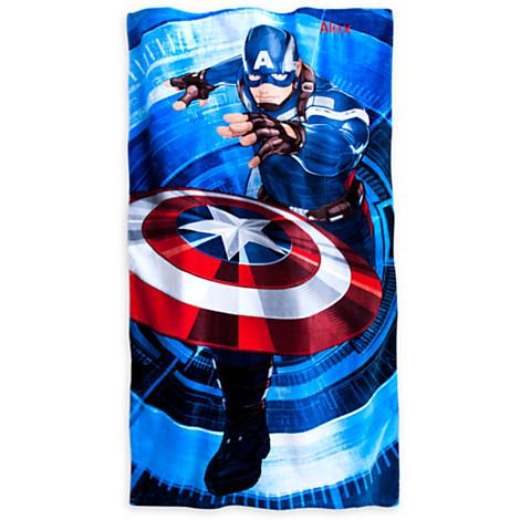 File:Captain America Beach Towel - Personalizable.jpg
