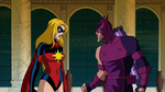 Hawkeye and Ms. Marvel argue AEMH