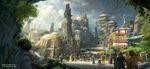 Star Wars Land Concept Art 01