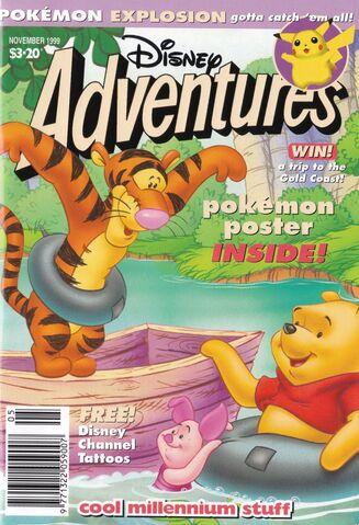 File:Disney Adventures Magazine cover Australia November 1999 Pokemon.jpg