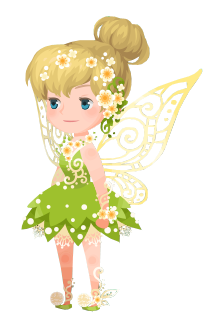 File:Tinker Bell Costume Kingdom Hearts χ.png