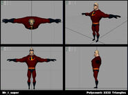 Incredibles Game Concept - Mr. Incredible super