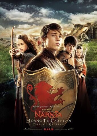 File:The Chronicles of Narnia Prince Caspian - Poster - Susan, Peter, Edmund and Lucy.jpg