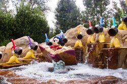 Voyage to the Crystal Grotto Mickey