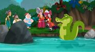 Crocodile Creek in Mama Hook Knows Best!