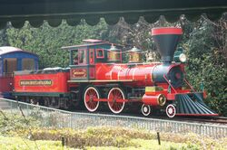 Hong Kong Disneyland Railroad Roy O. Disney