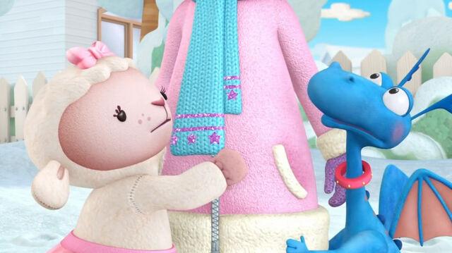 File:Lambie and stuffy hug doc.jpg