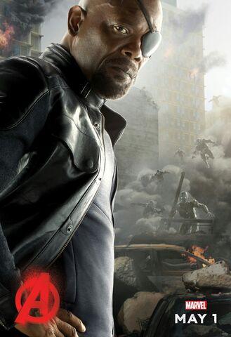 File:Nick Fury AOU Poster.jpg