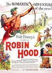 Walt disney's story of robin hood poster